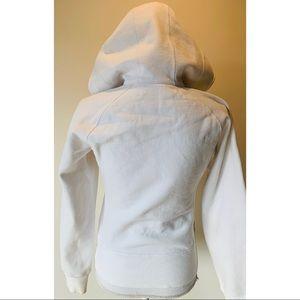 lululemon athletica Tops - Luluemon White Reversible Scuba Hoodie